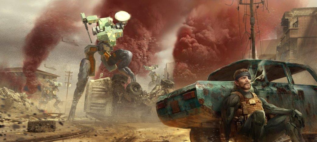 Замечательные фанарты к31-летию Metal Gear отрежиссера ееэкранизации | Канобу - Изображение 9