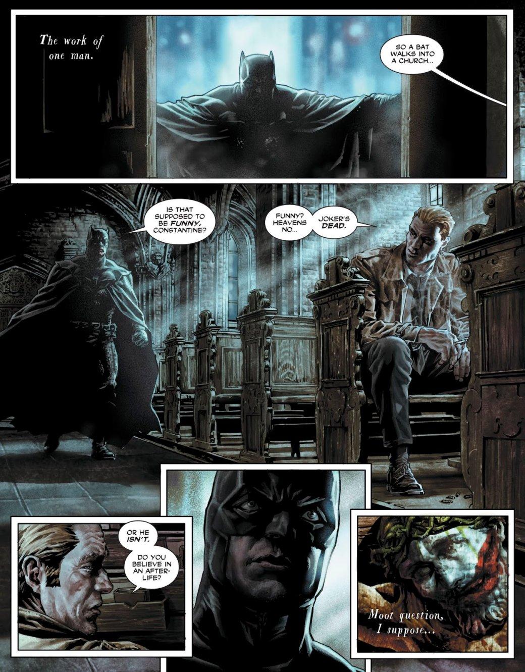 Batman: Damned— как Темный рыцарь иДжон Константин убийство Джокера расследовали | Канобу - Изображение 5