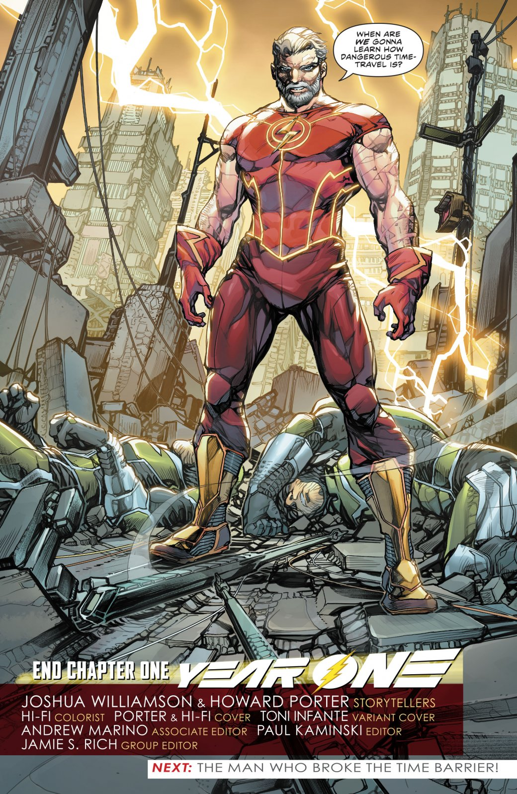 Какая неожиданная встреча произошла сФлэшем впервом выпуске Flash: YearOne? | Канобу - Изображение 6