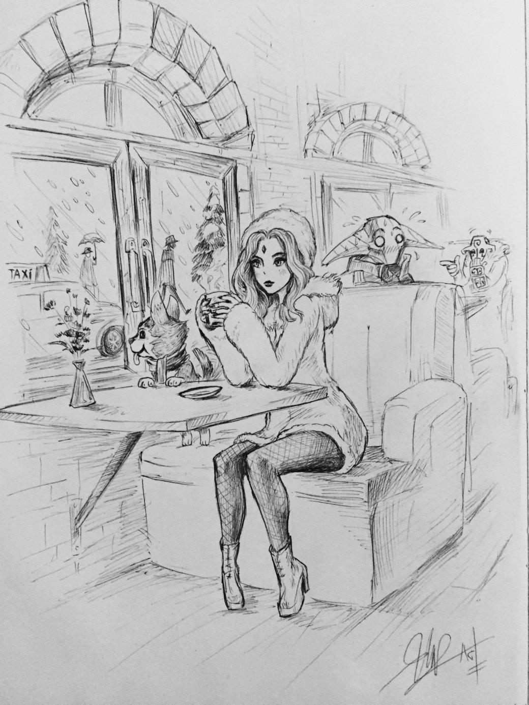 Обнаженная Windranger искромная Crystal Maiden: крутые арты поDota2 | Канобу - Изображение 10537