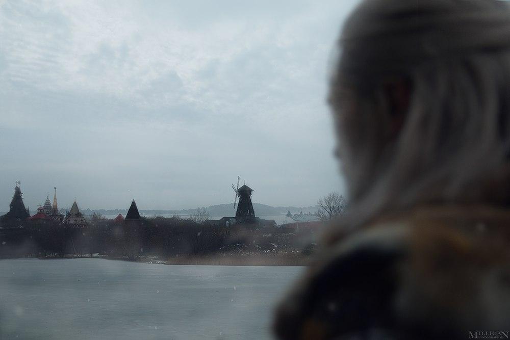 Геральт ибрукса вновом чудесном косплее по«Ведьмаку». - Изображение 1
