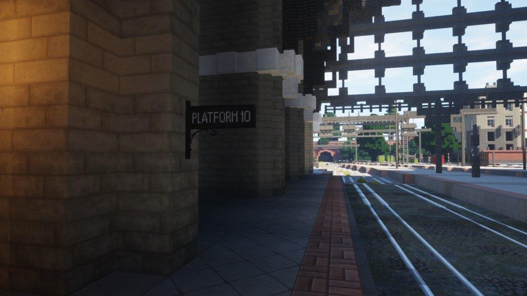 RPG по«Гарри Поттеру» наоснове Minecraft— какие места изкниг ифильмов вней есть?