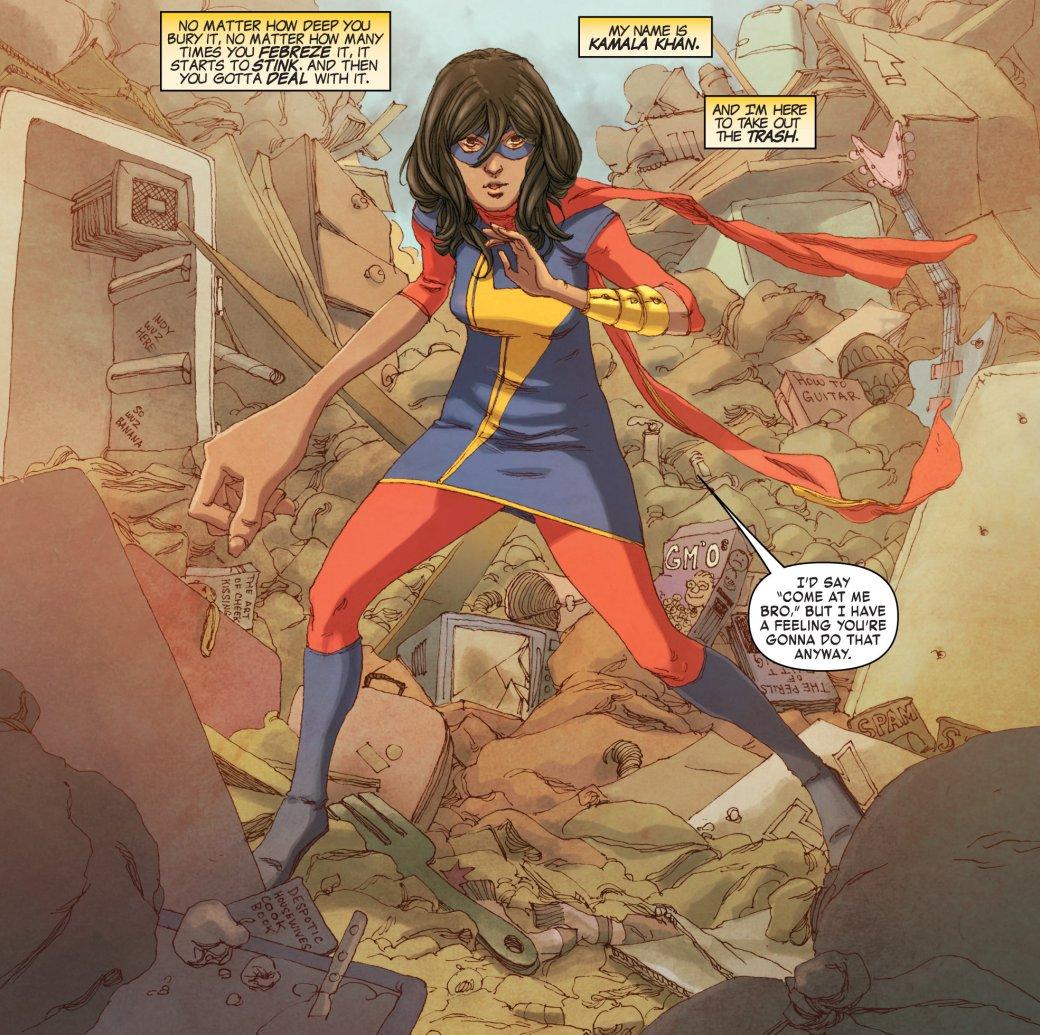 Начто способна мусульманка-супергерой? История Мисс Марвел | Канобу - Изображение 6988