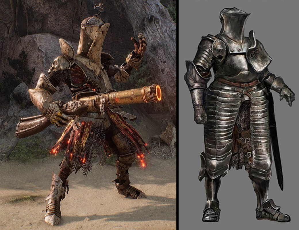 Игроки обвинили создателей шутера Witchfire в том, что они скопировали дизайн Лаппа из Dark Souls 3 | Канобу - Изображение 2