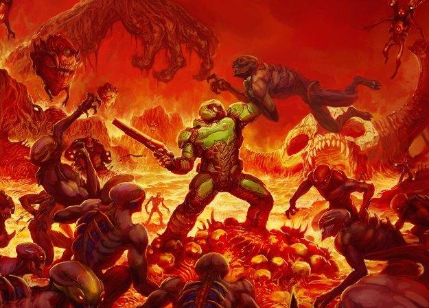 Doom: когда напрезентации игра выглядит хуже, чем после выхода | Канобу - Изображение 1