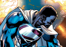 Как МайклБ. Джордан выгляделбы вобразе Супермена? Отвечает любопытный арт отBossLogic