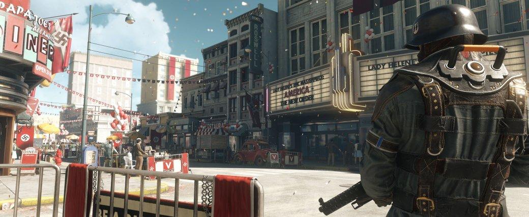 30 главных игр 2017 года. Wolfenstein 2: The New Colossus— Тарантинобы одобрил. - Изображение 3