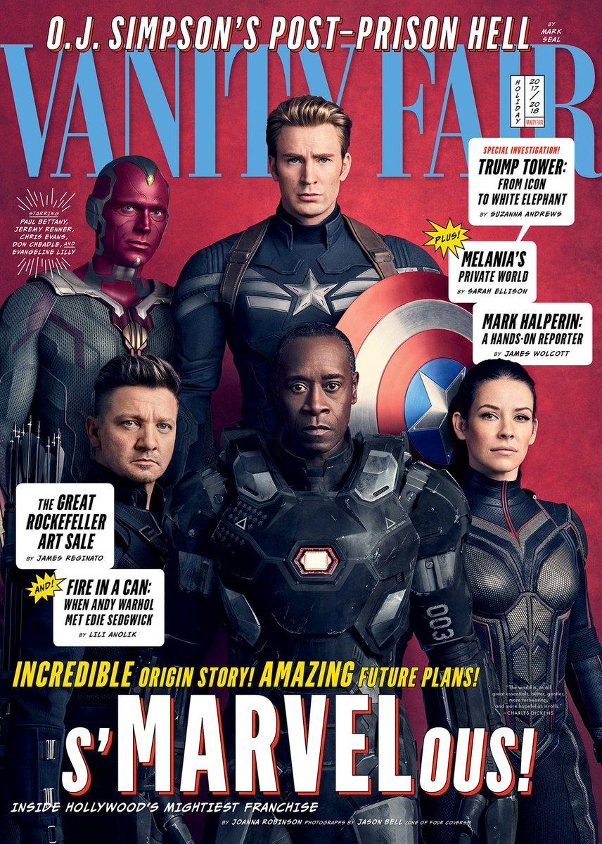 Героично: вжурнале Vanity Fair показали новые фото персонажей «Войны бесконечности» | Канобу - Изображение 419
