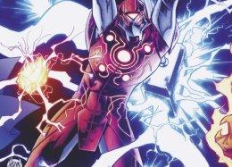 Гибрид Тора иЖелезного человека— какова его история визмененной вселенной Marvel?