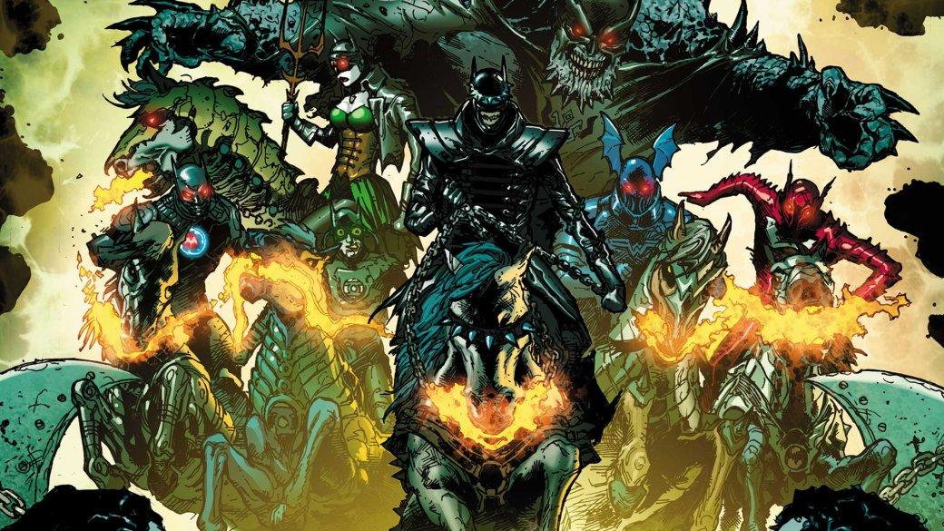 Семь злых Бэтменов, Джокеры-драконы идемоны изТемной Мультивселенной. Что такое Dark Nights: Metal. - Изображение 1