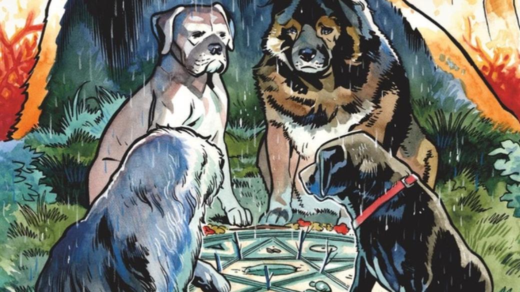 «Звери сБренного холма»— мрачная сказка про животных-экзорцистов   Канобу