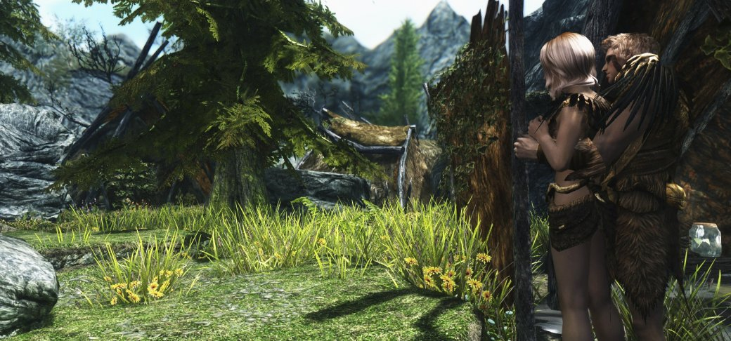 Гифка дня: как нестоит знакомиться сдевушкой в The Elder Scrolls 5: Skyrim. - Изображение 1