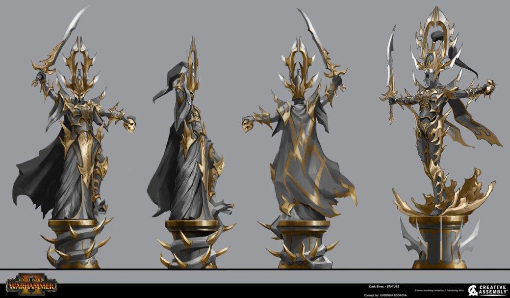 Взгляните напотрясающие концепт-арты Total War: Warhammer II. - Изображение 11