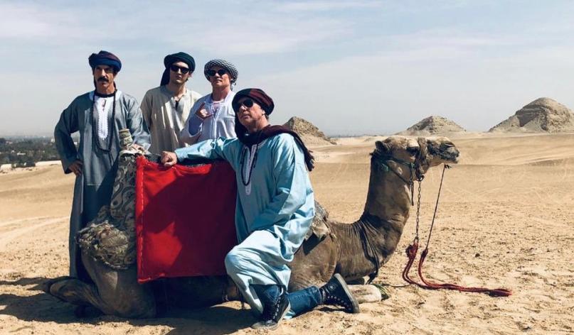 Red Hot Chili Peppers исполнили Pyramid Song уегипетских пирамид! | Канобу - Изображение 1
