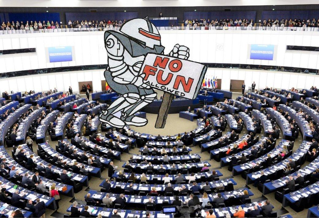 Европарламент принял новый закон окопирайте. ВИнтернете уверены, что он приведет к запрету мемов | Канобу - Изображение 1