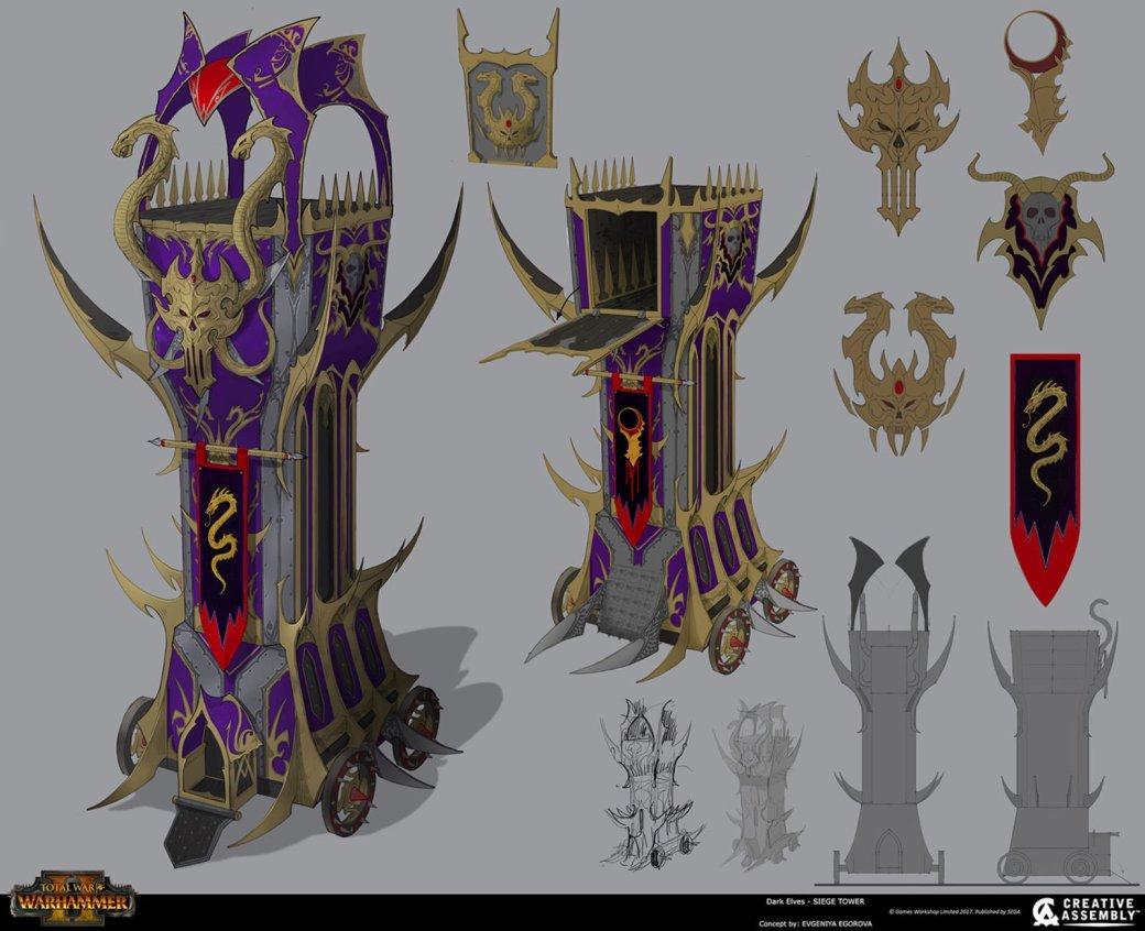 Взгляните напотрясающие концепт-арты Total War: Warhammer II. - Изображение 10