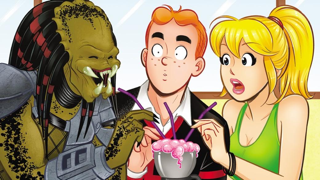 Издательство «Комильфо» выпустило нарусском языке кроссовер 2015 году Archievs. Predator. Внем Арчи Эндрюс иего друзья отправляются наотдых ислучайно привлекают внимание инопланетного охотника, решившего поохотиться наБетти иВеронику. Рассказываем, чем этот комикс может вас заинтересовать даже если выникогда нечитали комиксов про Арчи.