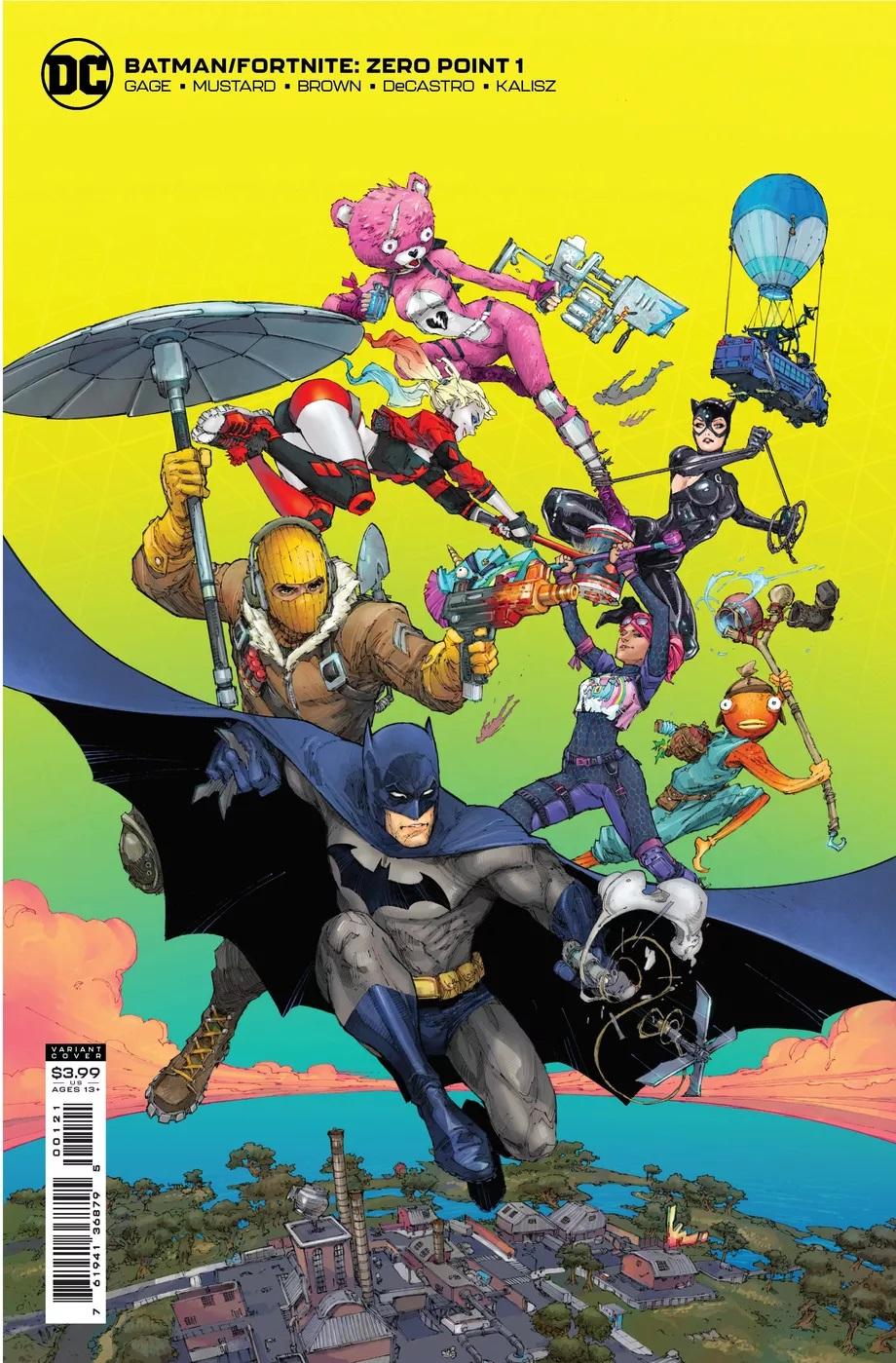 DCвыпустит комикс оприключениях Бэтмена вFortnite. Читатели получат скин Харли Квинн