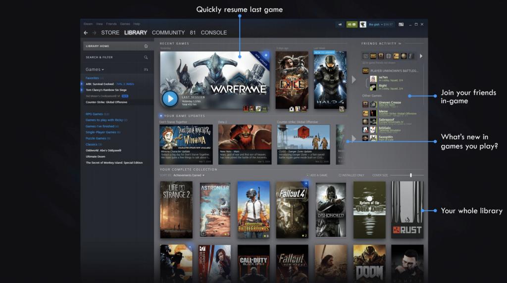 В Steam появится система событий, а внешний вид библиотеки переработают — все будет очень красиво! | Канобу - Изображение 3