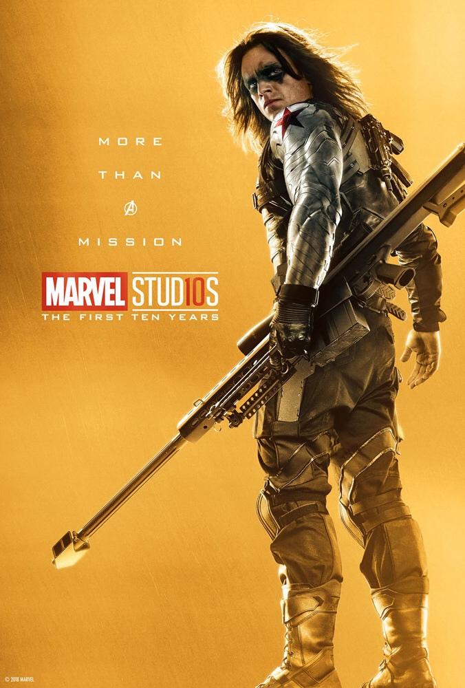 «Больше, чем легендарный преступник». ВСети появились новые юбилейные постеры Marvel Studios | Канобу - Изображение 14