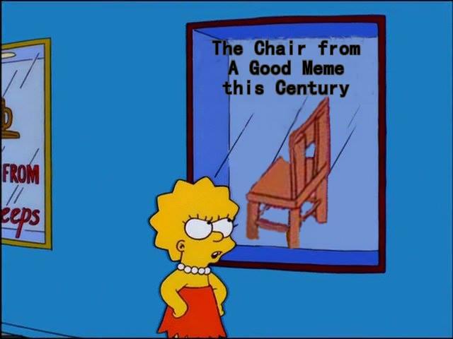 Барт Симпсон ударил Гомера стулом поголове. Идаже это стало мемом!. - Изображение 1