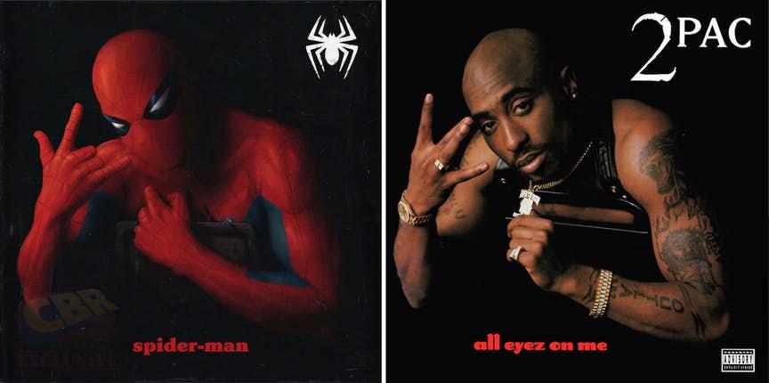 Новые хип-хоп обложки от Marvel: 2pac, Method Man, Frank Ocean  | Канобу - Изображение 779