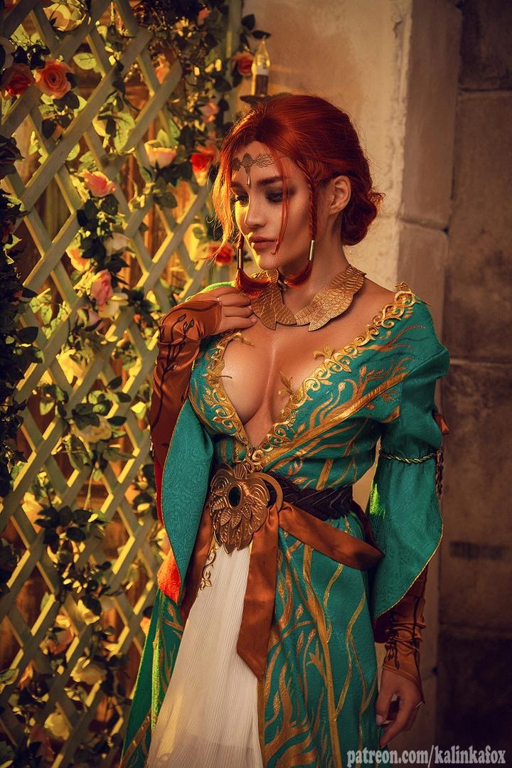 Соблазнительная иочаровательная Трисс Меригольд вновом косплее «Ведьмака» | Канобу - Изображение 1423