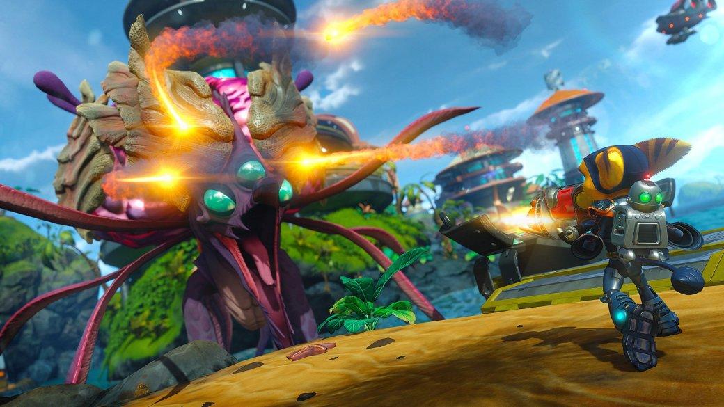Ratchet & Clank вторую неделю подряд возглавляет топ продаж | Канобу - Изображение 1