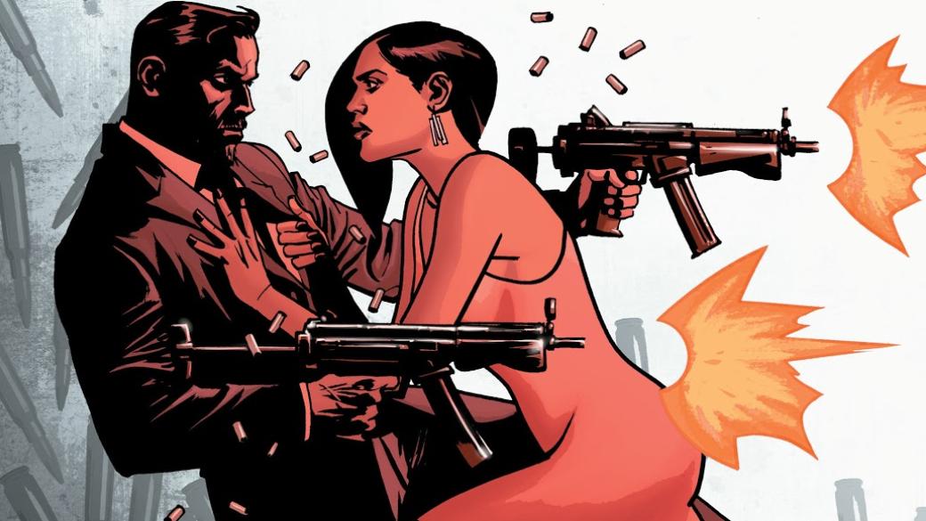 Услышав имя Роберта Киркмана люди, чаще всего, вспоминают популярный сериал «Ходячие мертвецы» (The Walking Dead), созданный наоснове его комикса. Досих пор неэкранизированный Thief ofThieves было слишком легко пропустить, даже несмотря набольшую продолжительность серии. Комикс стартовал вфеврале 2012 ипродолжался доконца июня этого года. Вобщем счете завсе время вышло сорок три номера, вкоторых успели отметиться нынешний сценарист The Amazing Spider-Man Ник Спенсер иавтор Green Arrow: Year one Энди Дигл. Бессменным художником серии был Шон Мартинброу, рисовавший, например, Luke Cage Noire. Обэтом любопытном комиксе про гениального вора ипоговорим вэтой статье.