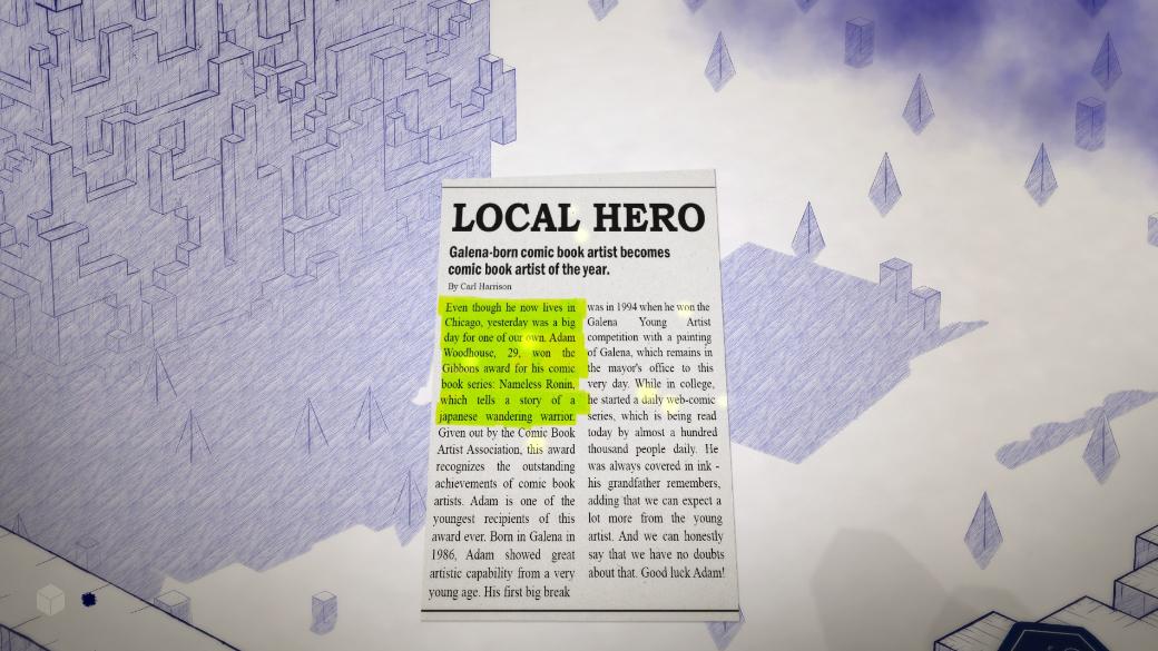 Обзор игры Inked для PC | Канобу - Изображение 7