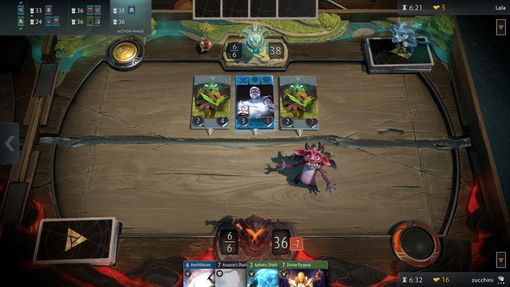 Смерть героев и 3 стола: что мы знаем о карточной игре Artifact. - Изображение 1