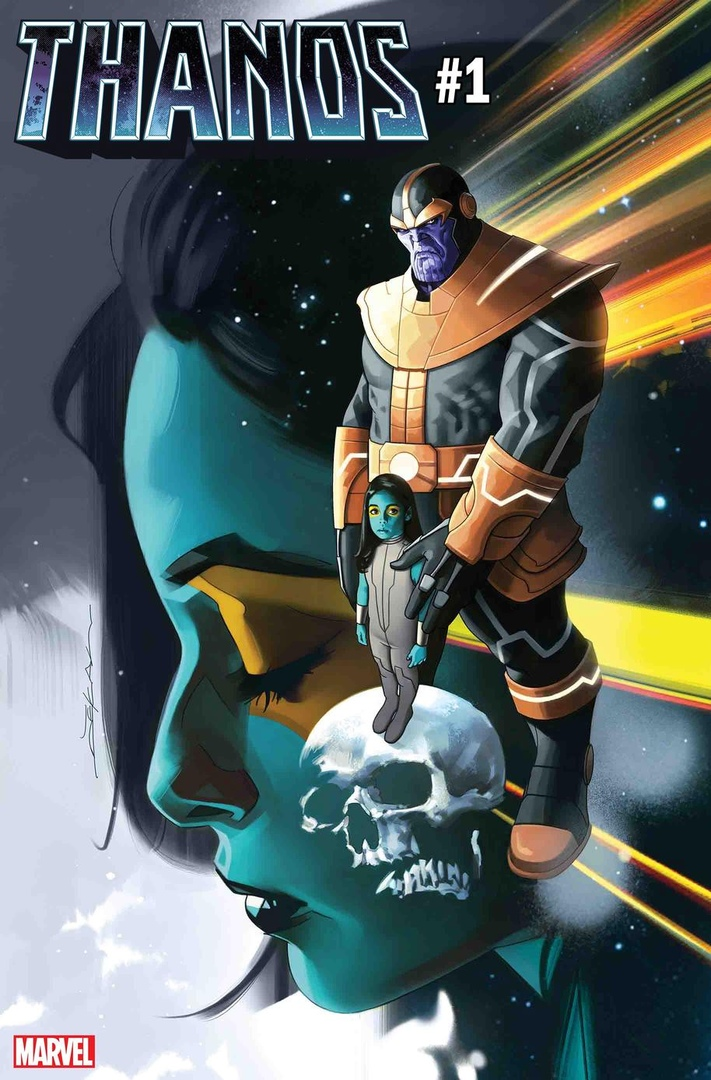 Новый комикс про Таноса расскажет опервой встрече безумного титана иГаморы | Канобу - Изображение 2