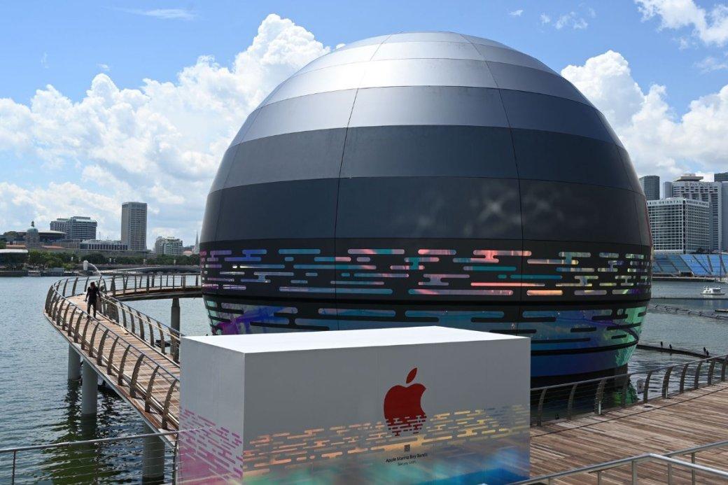 Фото дня: плавающий магазин-шар Apple Store вСингапуре   Канобу - Изображение 8076