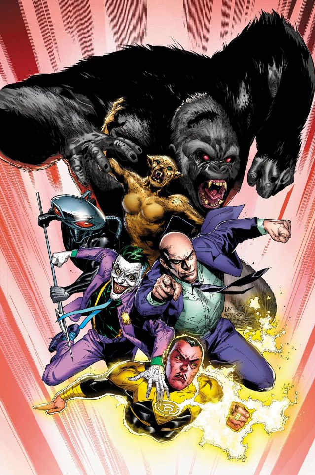 Вкомиксе оЛиге справедливости появится Легион смерти: Лекс Лютор, Джокер, Синестро идругие злодеи. - Изображение 1