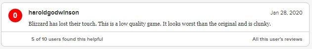 Игроки обрушили рейтинг Warcraft III: Reforged наMetacritic. Игру обвиняют вовсех грехах | Канобу - Изображение 9244