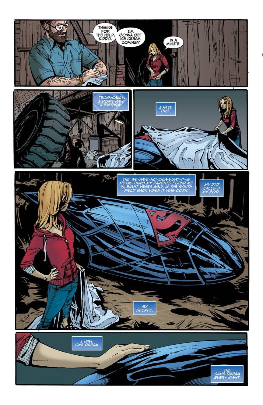 В новом комиксе Супердевушке изменили историю происхождения | Канобу - Изображение 8440