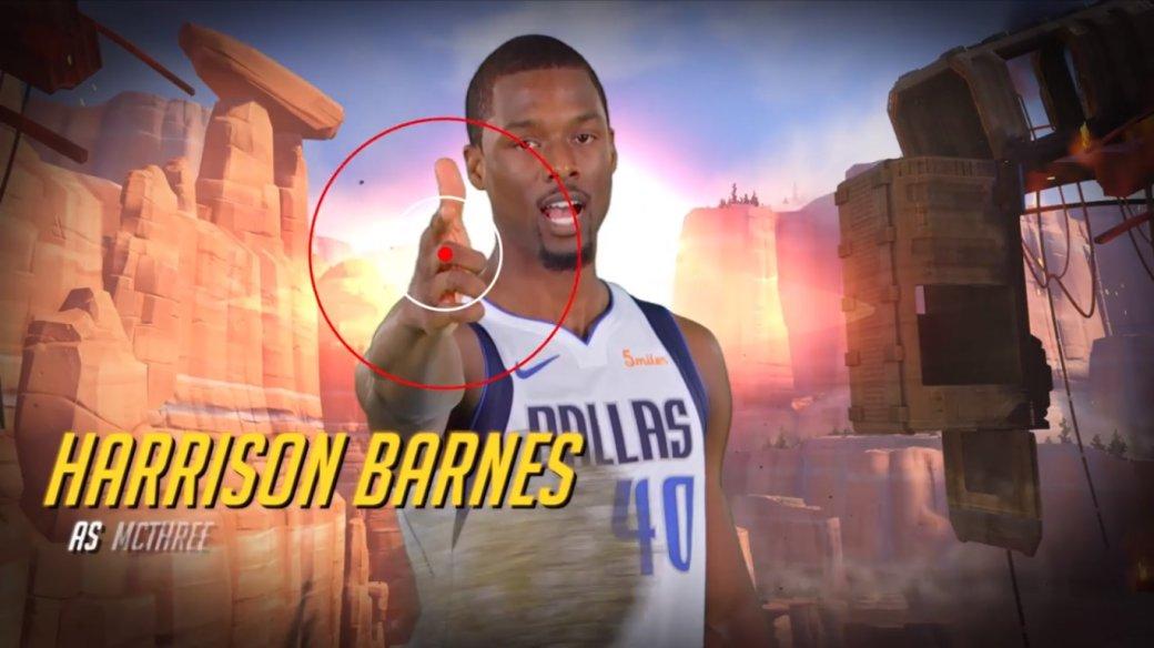 Игроки баскетбольного клуба изNBA снялись вролике встиле Overwatch | Канобу - Изображение 1