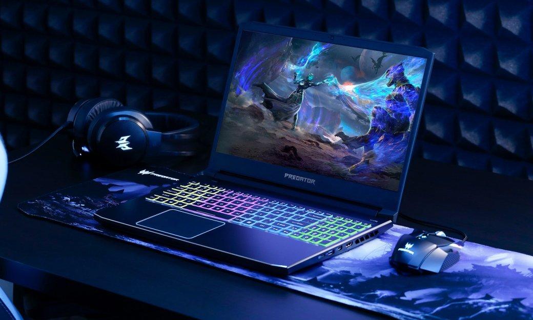 Игровой ноутбук Acer Predator Helios 300 получил новые видеокарты Nvidia GTX 1660Ti иRTX 2070 | Канобу - Изображение 8641