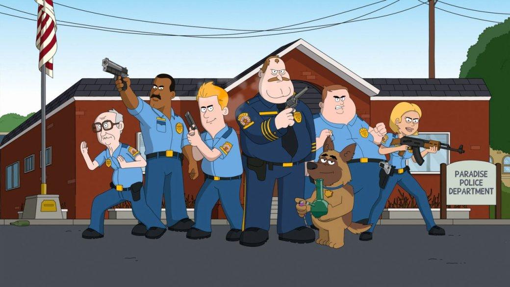 Первые впечатления от анимационного сериала «Полиция Парадайз»