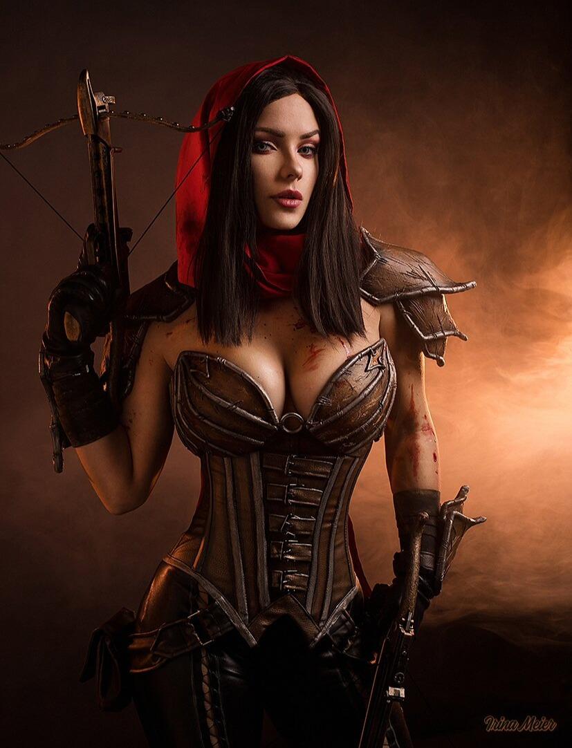 Горячий косплей Охотницы на демонов из Diablo III   Канобу - Изображение 2
