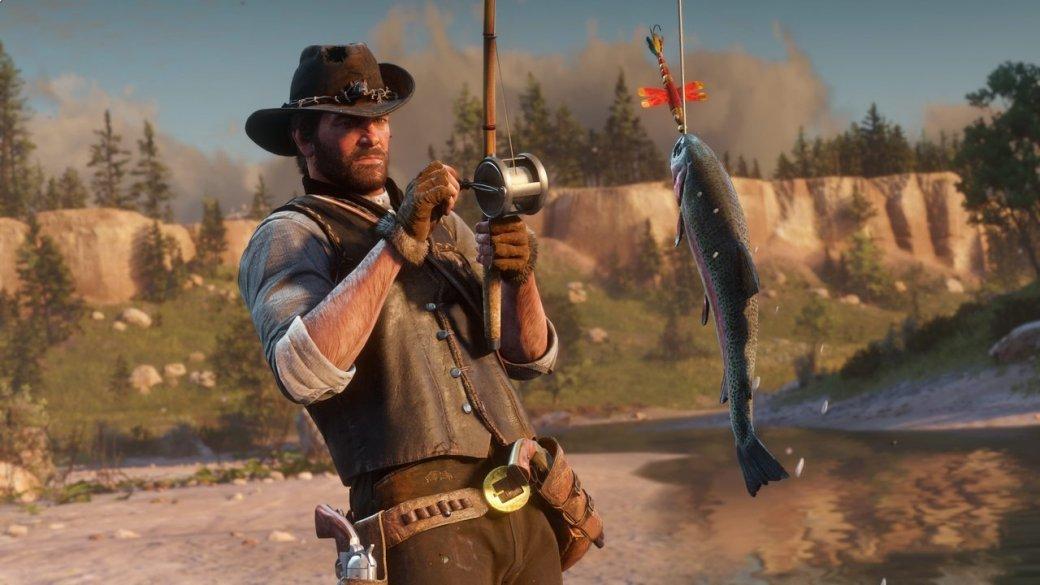 Гифка дня: несовсем подводный мир Red Dead Redemption2 | Канобу - Изображение 1