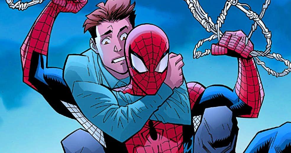 Объяснено: как Питер Паркер иЧеловек-паук могут раздельно существовать настраницах нового комикса?. - Изображение 1