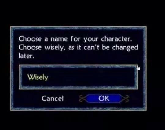 Какие забавные имена вы давали персонажам, чтобы диалоги в игре поменяли свой смысл? | Канобу - Изображение 10913