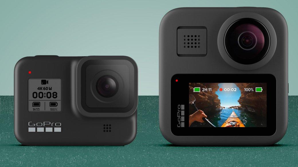 ВРоссии вышли экшен-камеры GoPro Hero 8 Black иMax   Канобу - Изображение 0