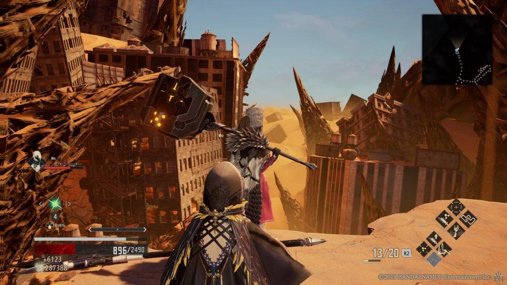 Code Vein — лучший аналог Dark Souls для фанатов аниме   Канобу - Изображение 8519