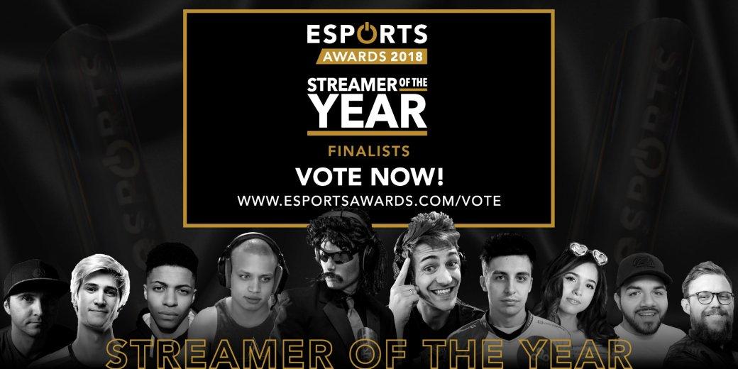 Dr. DisRespect, Shroud и Dota 2 номинированы на премию Esports Awards 2018 | Канобу - Изображение 1