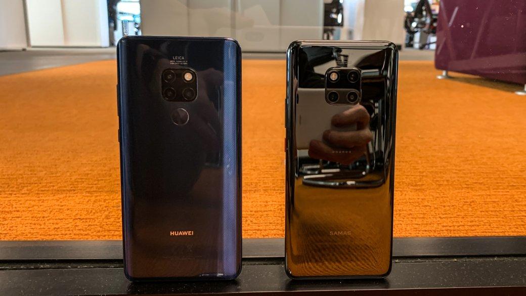 Первый взгляд: Huawei Mate 20 и20 Pro стремя основными камерами | Канобу - Изображение 2