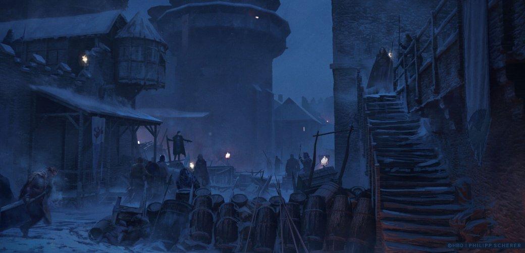Художник выложил концепт-арты к8 сезону «Игры престолов». Иххоть сейчас ставь нарабочий стол | Канобу - Изображение 683