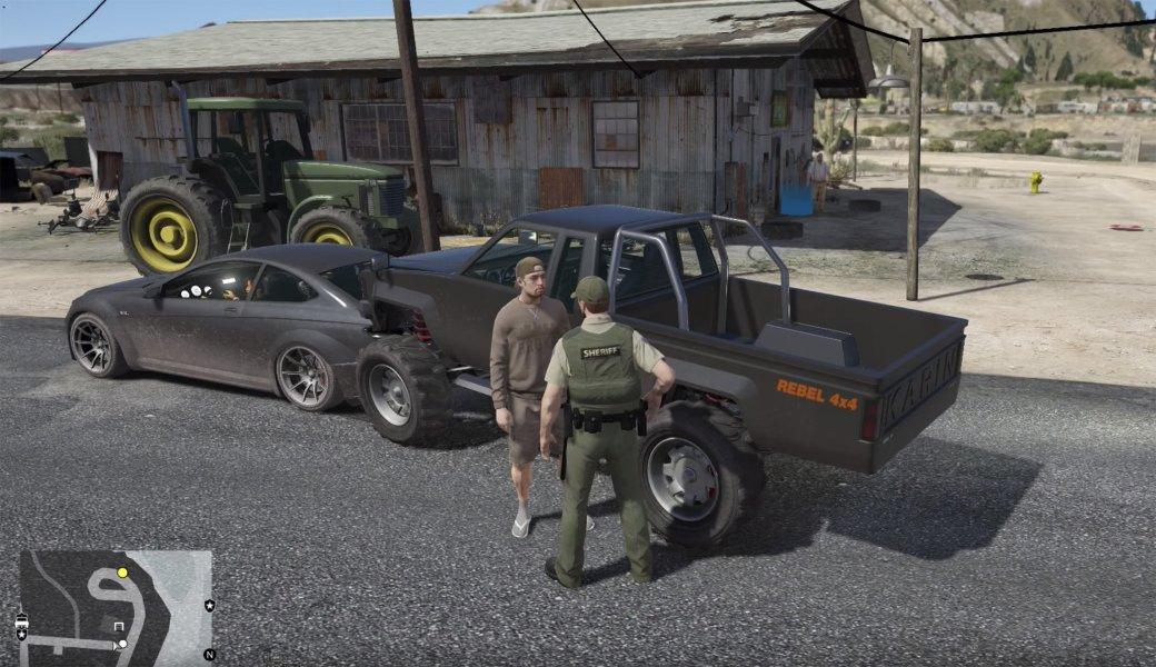 Гифка дня: проблемы при аресте вGrand Theft Auto5 | Канобу - Изображение 1