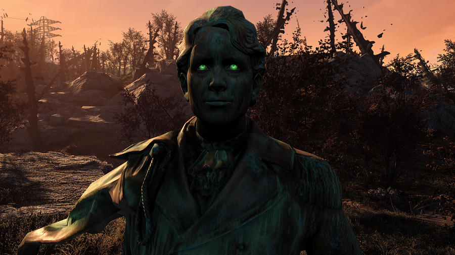 Узрите же великого! Геймеры сделали мод для Fallout 4, добавляющий в нее статуи Тодда Говарда. - Изображение 1